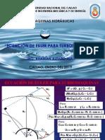 4. Ecuacion de Euler para Turbomaquinas