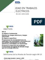SEGURIDAD EN TRABAJOS ELECTRICOS