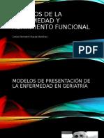 Abatimiento funcional y modelos de la enfermedad