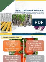 Basis Hasil Tanaman Produksi