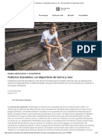 Federico Scarabino_ un deportista de tierra y mar - Revista Galeria en Montevideo Portal