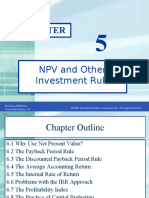 06. NPV & Other Investment Rules - Ross.ppt
