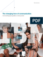 Social Networking Sites are Changing the Face of Communcation