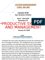 Lecture-03-Productive Systems and Management
