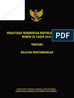 PP 22 2010_WILAYAH PERTAMBANGAN