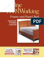 Frame and Panel Bed