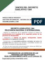 DTR Rosalia Mejia apoyo y salvaguardia