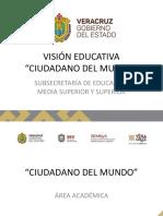 Visión Educativa Ciudadano del mundo