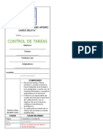 CONTROL DE TAREAS 2016