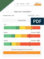 Test depresie, anxietate, stres - Scala DASS-21 - ATLAS3