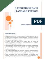 Python 4 les fonctions dans le langage python