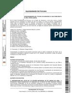 Acta del Pleno de la Corporación sesión extraordinaria 27-02-2020