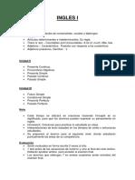 Programa de ingles I y II