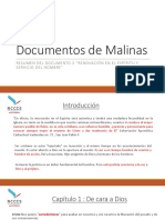 Resumen del Documento 3 de Malinas - La Renovación en el Espíritu y servicio del hombre