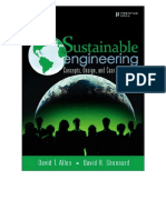 ALLEN_Sustainable Engineering Concepts, Design, And Case Studies