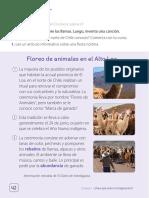 Publicación en libros de  Lenguaje y Comunicación para 2º Básico