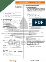 FACTORIZACIÓN I - 4to.pdf IMPRIMIR