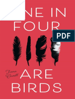 One in Four Are Birds by Fiona Cavell