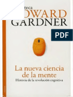 La nueva ciencia de la mente horward garner .pdf
