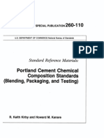 Portland Cement Chemical Composition Standards Blending Packaging and Testing