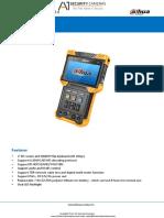Manejo del nuevo Video Tester Dahua-DH-PFM900