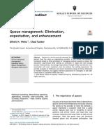 Additional Reading- Queue management_ Elimination, expectation, and enhancement.pdf