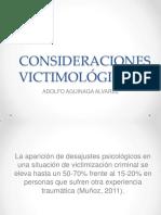 CONSIDERACIONES VICTIMOLÓGICAS II