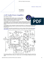 170W Class D Amplifier schematic diagram.pdf