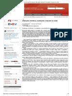 Avanços Recentes em Medicina Alterações climáticas, inundações e impacto na saúde