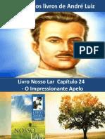 24 ROTEIRO DO ESTUDO DO CAPÍTULO 24 DO LIVRO NOSSO LAR