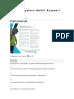 Actividad de Puntos Evaluables - Escenario 5 Etica Empresarial