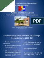 Ajedrez en el Jaume Balmes. Creciendo con valores; mejorando en competencias.