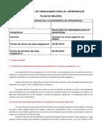 DESARROLLO DE HABILIDADES PARA EL APRENDIZAJE