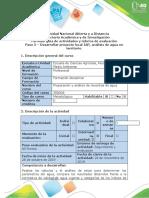 Guía de actividades y rubrica de evaluación - Paso 5 Desarrollar Proyecto Local_IAp, análisis de agua en territorio