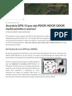 Acurácia GPS_ O que são PDOP, HDOP, GDOP, multicaminho e outros_ » Forest-GIS _ O seu portal de geotecnologia !