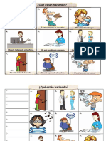 99 ejemplos de verbos en Presente contínuo..pdf