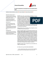 Reforma Psiquiátrica Brasileira e Lógica Diagnóstica