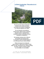 Al rumor de las Selvas hondureñas