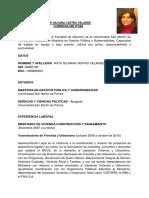Modelo Currículum Vitae para Abogados