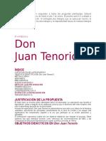 Actividad Don Juan Tenorio