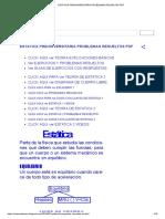 ESTÁTICA PREUNIVERSITARIA PROBLEMAS RESUELTOS PDF