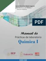 MANUAL DE PRACTICAS DEL LABORATORIO DE QUIMICA 1-ENE 2019.pdf