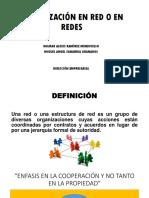 ORGANIZACIÓN EN RED O EN REDES