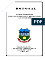 proposal pemagaran