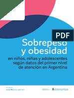 Sobrepeso y Obesidad Niños ARGENTINA