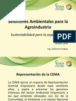 1- A Apertura Presentación GP - Soluciones Ambientales para la Agroindustria.ppt