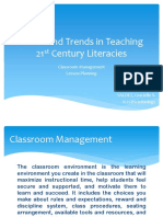 Issues and Trends in Teaching 21st Century Literacies