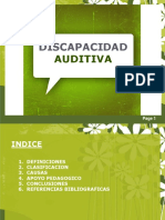 DIACAPACIDAD AUDITIVA POWER POINT