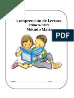 Cuadernillo de Lectura 1° Básico Parte I MM SIP 2018