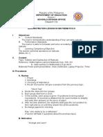 semi detailed lesson plan MATH 9